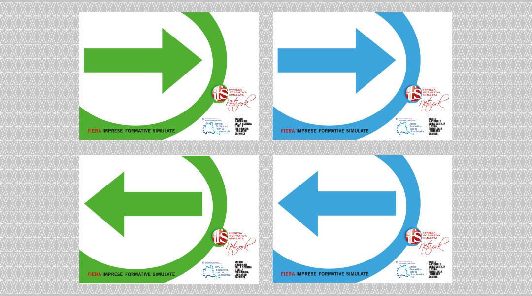 Impresa Formativa Simulata - paline direzionali